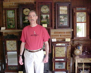 A Chauncey Jerome clock collector