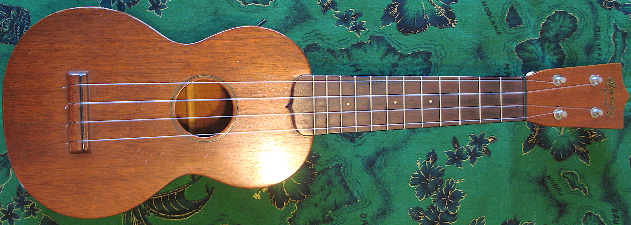 dating vintage martin ukulele